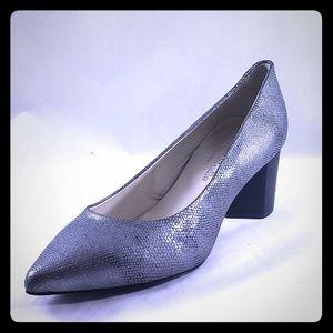 Firenze Studio Diana Silver Shoes Size 6